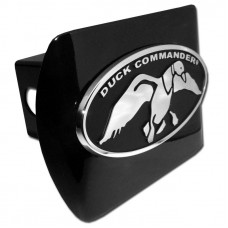 Duck Commander Oval Chrome on Black Hitch Cover