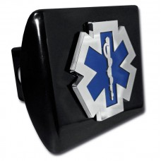 EMS Logo on Black Hitch Cover