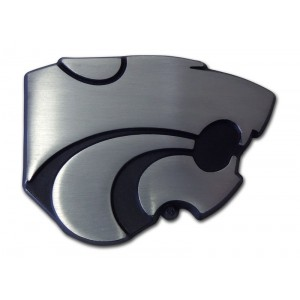 Kansas State Black and Matte Emblem