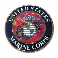USMC Seal Color Bling Emblem