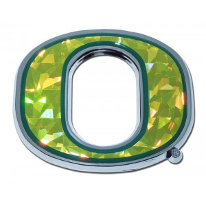 Oregon Color Bling Chrome Emblem