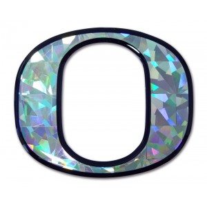 Oregon Silver Bling Emblem