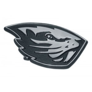 Oregon State Beaver Black and Chrome Emblem