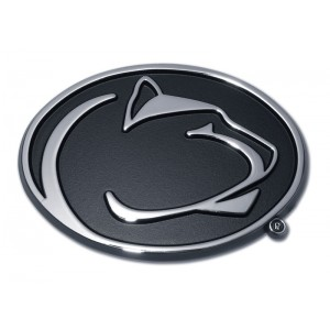Penn State Black and Chrome Emblem