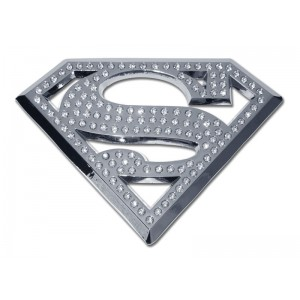 Superman Crystal Bling Superman Emblem