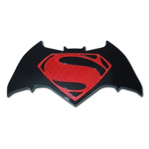Batman/Superman Red and Black Superman Emblem