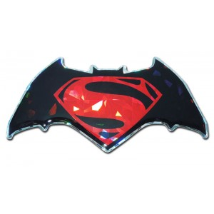 Batman/Superman Red Bling Batman Emblem
