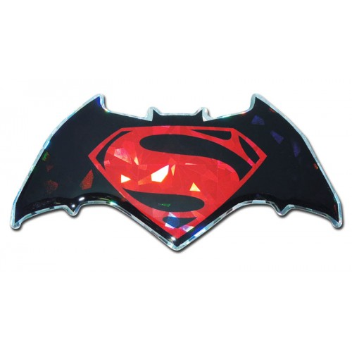 Batman/Superman Red Bling Superman Emblem
