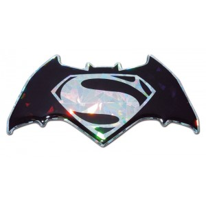 Batman/Superman Silver Bling Superman Emblem