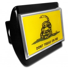 Don't Tread On Me Flag on Black Hitch Cover