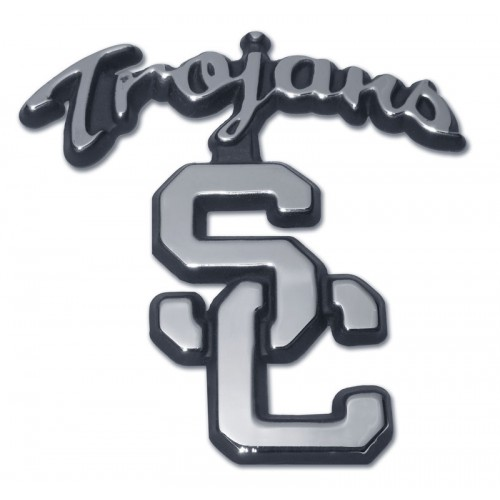 Southern California Black and Chrome Emblem