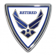 Air Force (Retired) Shield Emblem