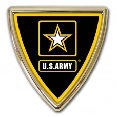 Army Star Shield Emblem