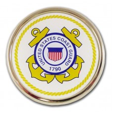 Coast Guard (White Seal) Circular Emblem