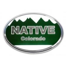Colorado Native Oval Emblem