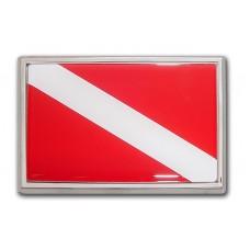 Dive Flag (Car Size) Emblem