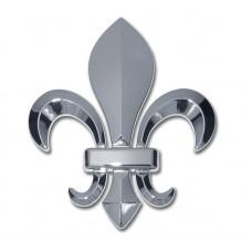 Louisiana Fleur-de-Lis (3D) Emblem