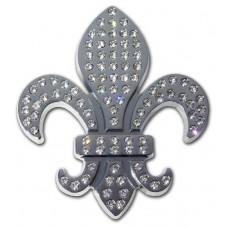Louisiana Fleur-de-Lis (Crystallized) Emblem