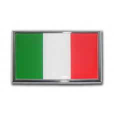 Italian Flag (Car Size) Emblem