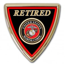 Marine Retired Shield Emblem