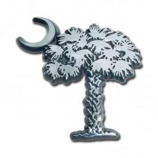 South Carolina Palmetto Tree & Moon Emblem