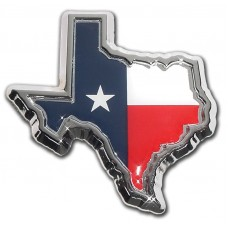 Texas Flag (TX Shape with color) Emblem