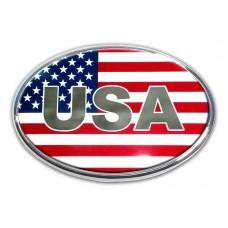 American Flag Emblem (Oval) Emblem
