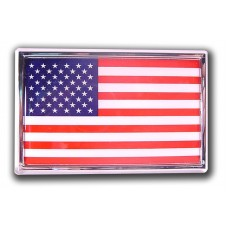 American Flag (Car Size) Emblem