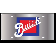 Buick Retro Stainless Steel License Plate