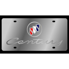 Buick Century Stainless Steel License Plate