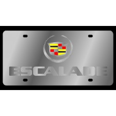 Cadillac Escalade Stainless Steel License Plate