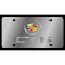 Cadillac CTS Stainless Steel License Plate