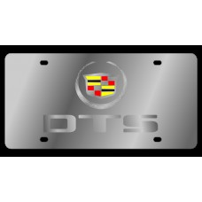 Cadillac DTS Stainless Steel License Plate