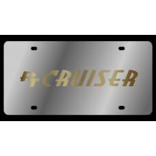 Chrysler PT Cruiser Stainless Steel License Plate