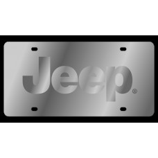 Jeep Stainless Steel License Plate