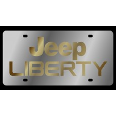 Jeep Liberty Stainless Steel License Plate