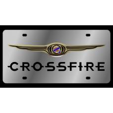Chrysler Crossfire Stainless Steel License Plate