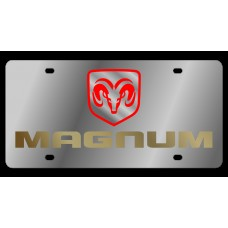 Dodge Magnum Stainless Steel License Plate