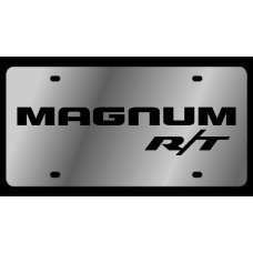 Dodge Magnum RT Stainless Steel License Plate