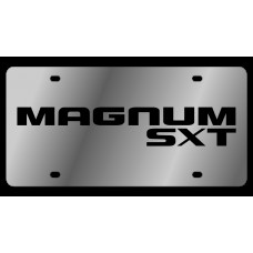 Dodge Magnum SXT Stainless Steel License Plate