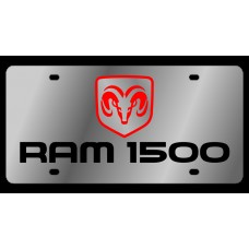 Dodge RAM 1500 Stainless Steel License Plate