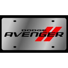 Dodge Avenger Stainless Steel License Plate