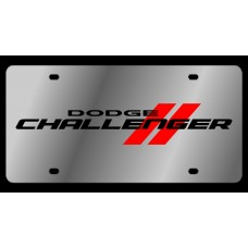 Dodge Challenger Stainless Steel License Plate
