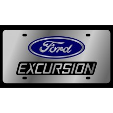 Ford Excursion Stainless Steel License Plate