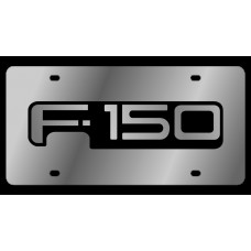 Ford F-150 Stainless Steel License Plate