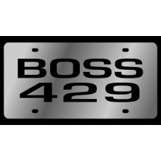 Ford Boss 429 Stainless Steel License Plate
