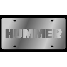 Hummer Stainless Steel License Plate