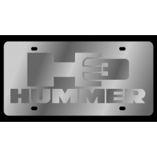 Hummer H3 Stainless Steel License Plate