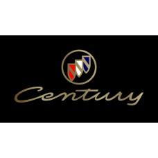 Buick Century License Plate