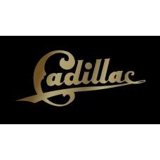 Cadillac Retro License Plate